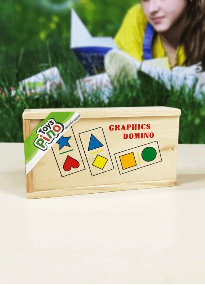 Domino - Format gjeometrike (28 pjesë)