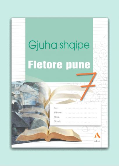 Fletore pune Gjuha shqipe 7