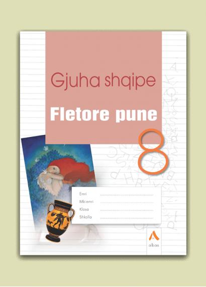 Fletore pune Gjuha shqipe 8