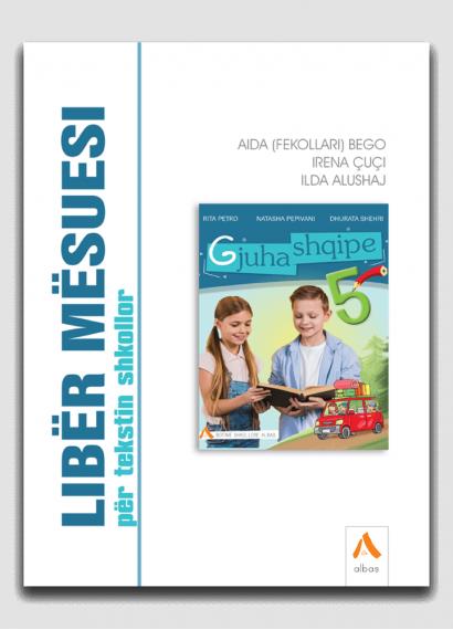 Libër mësuesi për tekstin shkollor Gjuha shqipe 5