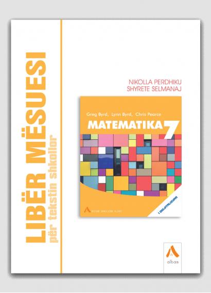 Libër mësuesi për tekstin shkollor Matematika 7