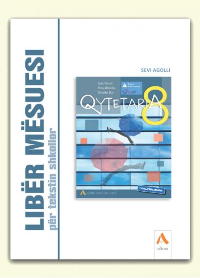 Libër mësuesi për tekstin shkollor Qytetaria 8
